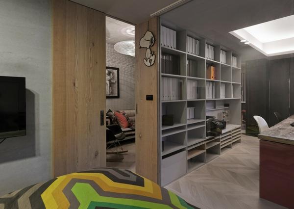 Apartment mit großartiger Wohnfläche schlafzimmer bettwäsche