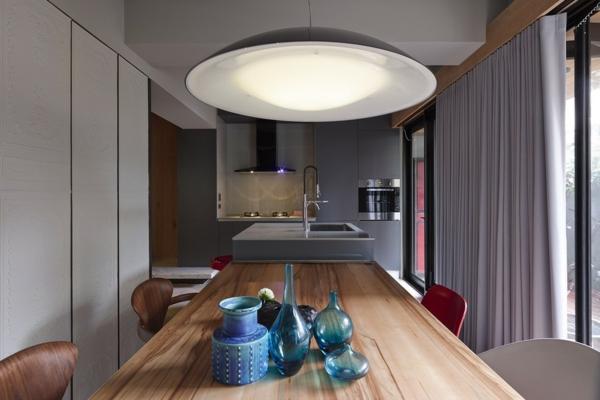 Schönes Apartment mit großartiger Wohnfläche taipeh küche