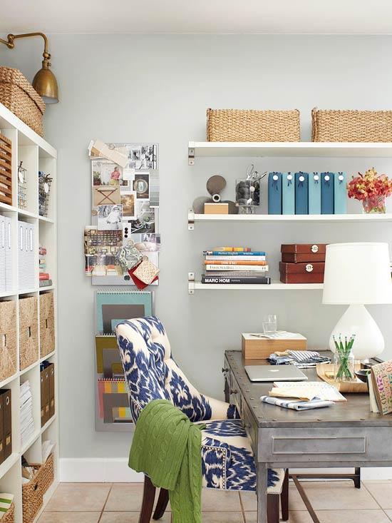 Schicke  Wohnzimmer Ideen homeoffice design regale