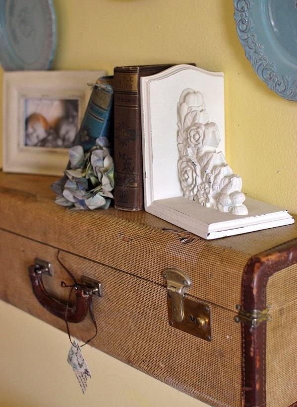 Möbel aus alten Koffern zum Selbermachen wandregale