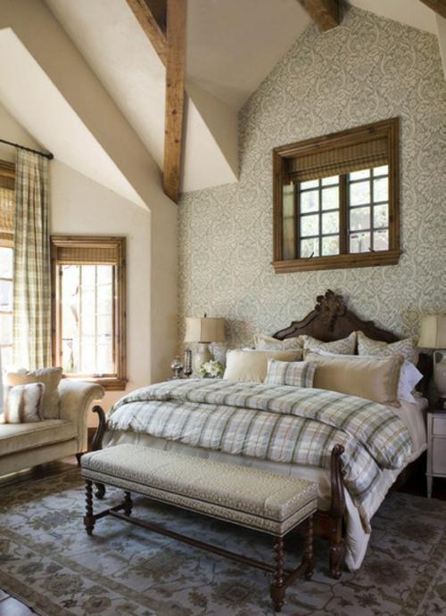 12 wohnideen fr wandgestaltung mit schnen tapeten - Wandgestaltung Mit Tapeten