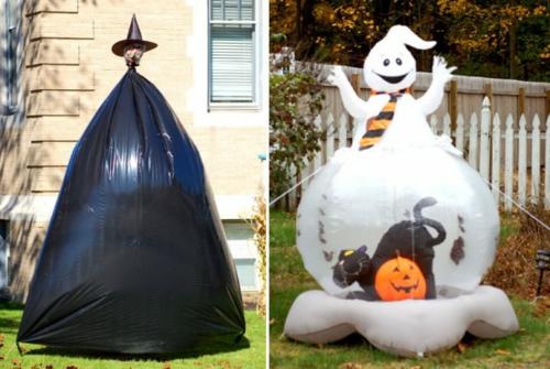 außenbereich garten deko halloween ideen selber machen DIY dreck