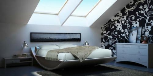 außergewöhnliche schlafzimmer betten – progo, Schlafzimmer