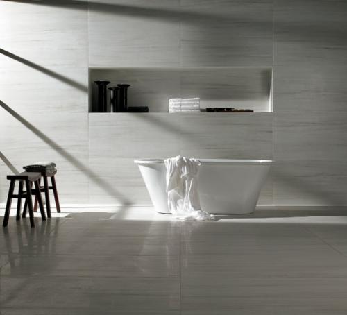 bad fliesen richtig verlegen minimalistisch glnzend in grauwei - Bad Fliesen Grau Weiss