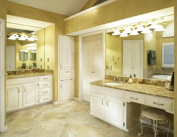 badezimmer design mit fliesen sonnig mit viel licht