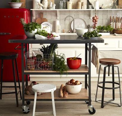 coole aufbewahrung ideen f r ihre k che platz sparen mit. Black Bedroom Furniture Sets. Home Design Ideas