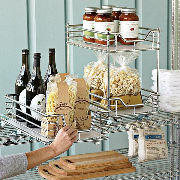 Coole Aufbewahrung Ideen für Ihre Küche Platz sparen mit