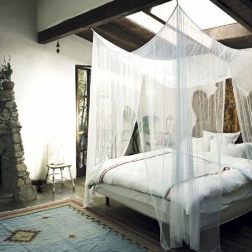 33 erstaunliche weiße himmelbett designs für ihr schlafzimmer - Schlafzimmer Ideen Himmelbett