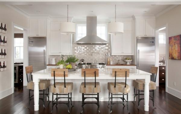 die farbgestaltung ihrer langweiligen küche dunkles parkett neutrale farbtöne