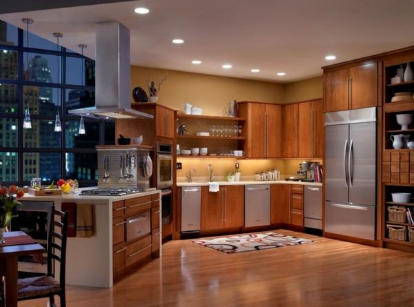 Die farbgestaltung ihrer langweiligen küche eichenholz schranksystem