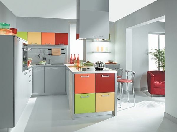 Die Farbgestaltung Ihrer Langweiligen Küche Farben Mix