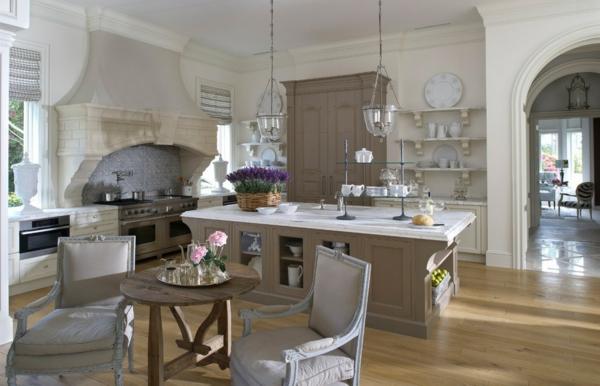 Romantische Küchen die farbgestaltung ihrer langweiligen küche 10 praktische tipps