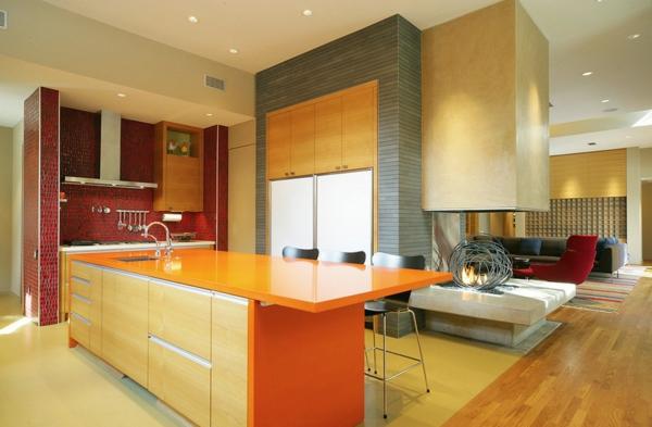 die farbgestaltung ihrer langweiligen küche sonnige nuancen edle texturen