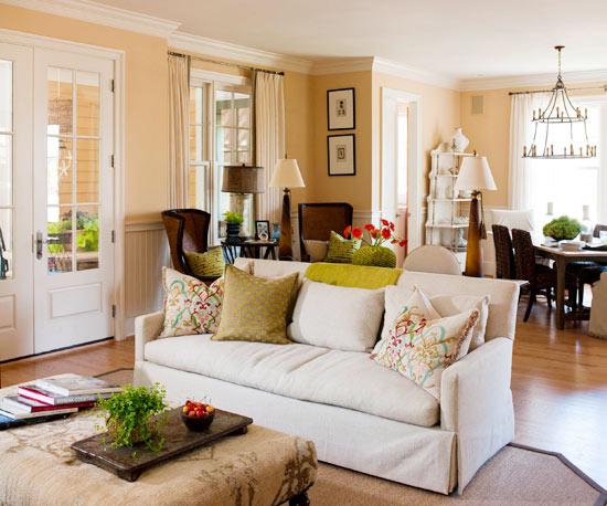 Die Perfekte Farbpalette Im Wohnzimmer - 20 Farbenfrohe Tipps Für Sie Wohnzimmer Cremeweis
