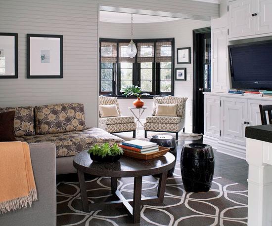 Die perfekte Farbpalette im Wohnzimmer - 20 farbenfrohe Tipps für Sie