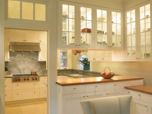 ein flexibles küchen design warm und hell küchenspiegel im marmor look