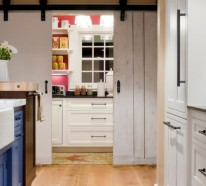 """Ein Flexibles Küchen Design – offener Grundriss mit einer """"Close it off"""" Option"""