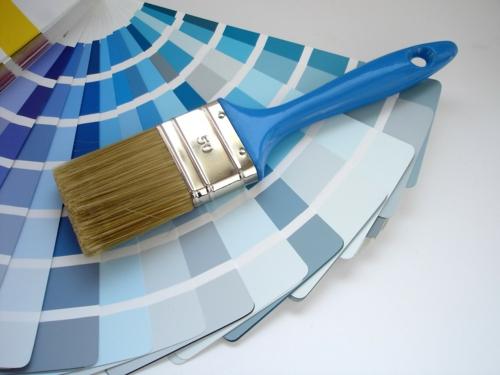 elegante farbgestaltung zu hause bunt farben blau nuancen
