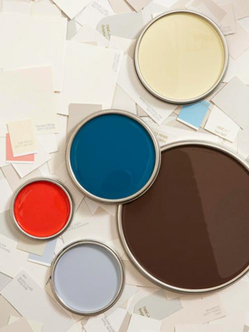 elegante farbgestaltung zu hause bunt farben wählen