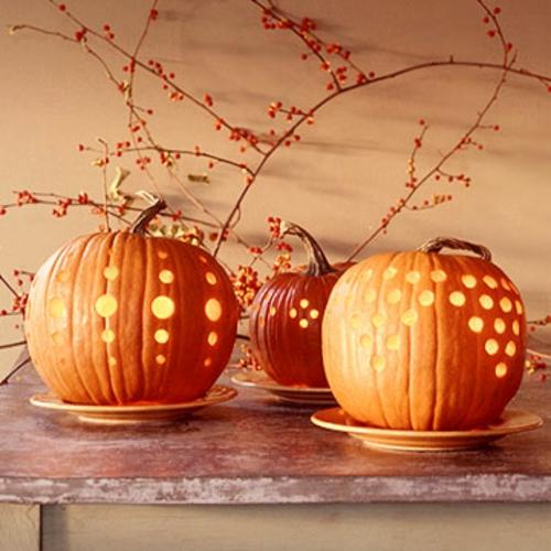 Flotte halloween dekoration last minute designs f r ihre for Decoracion de calabazas manualidades