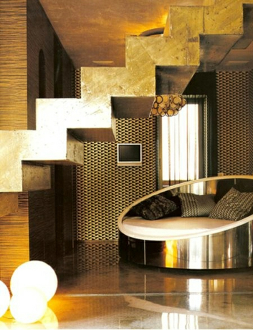 glamouröse interior ideen gold und silber