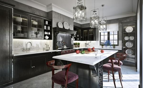 wohnzimmer grau violett:Glänzendes Hellgrau für eine dezente Atmosphäre im Wohnzimmer