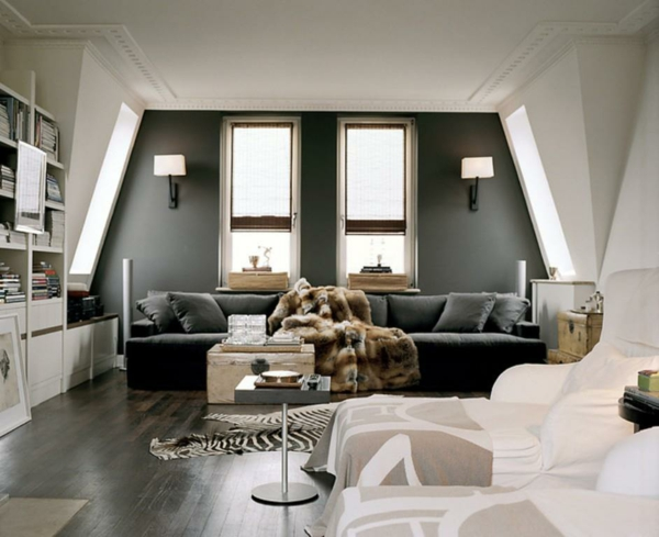 grau als trendfarbe streichen sie ihre w nde neu. Black Bedroom Furniture Sets. Home Design Ideas