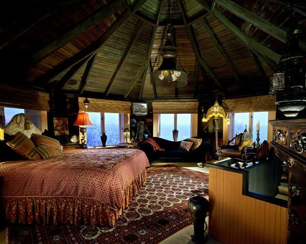 großartige marokkanische Interior Designs schlafzimmer zimmerdecke bett
