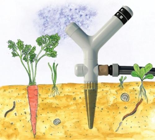 high-tech pflanzen geräte modern für die bewässerung