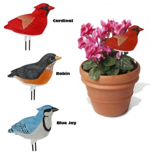 high-tech pflanzen geräte singender vogel
