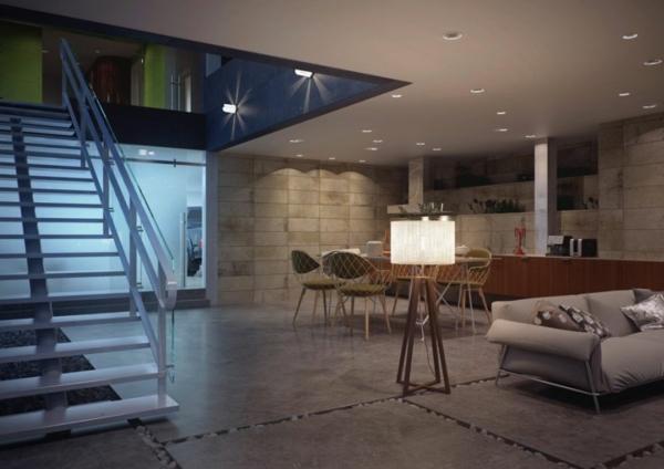 Moderne häuser mit viel glas  Innovatives Glaskasten Haus - gewagtes Design und modernes Interior