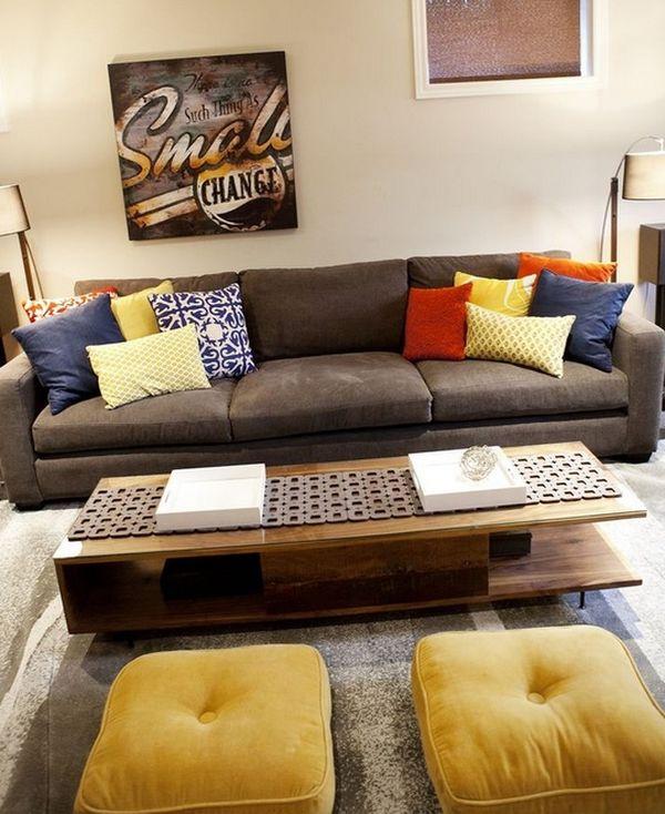 inspirierende dekoration mit kissen 30 farbenfrohe ideen. Black Bedroom Furniture Sets. Home Design Ideas