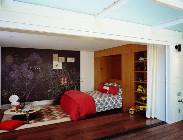 30 intelligente designs mit klappbett das murphy bett. Black Bedroom Furniture Sets. Home Design Ideas
