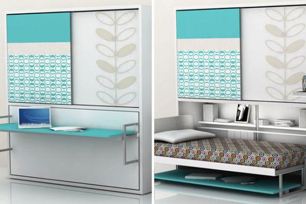 30 Intelligente Designs Mit Klappbett Das Murphy Bett