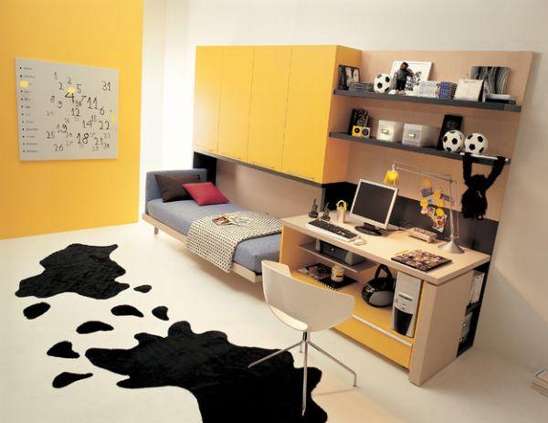 intelligente designs mit klappbett einzelbett versteckt