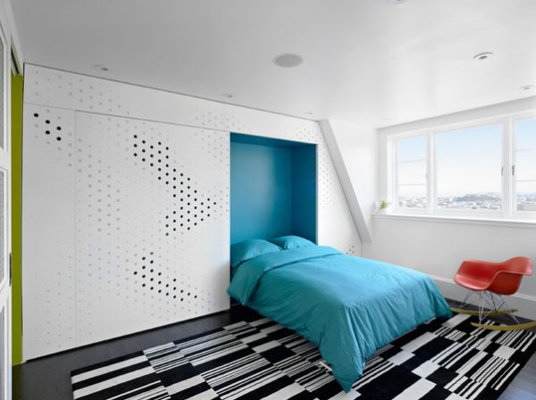 30 intelligente designs mit klappbett das murphy bett. Black Bedroom Furniture Sets. Home Design Ideas