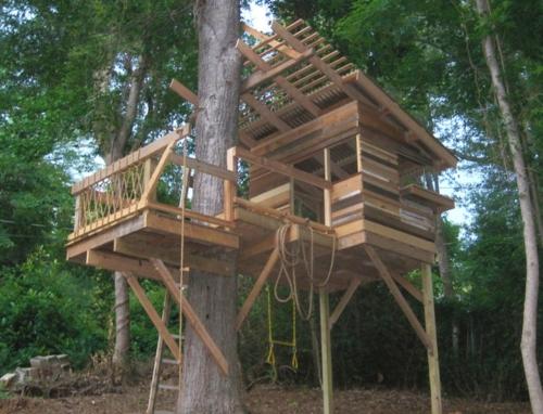 Kinder Spielhäuser Baum Haus Mit Veranda Kinder Spielhäuser Im Hinterhof U2013  12 Traumhafte Kastelle Für Ihre Kleinen ...