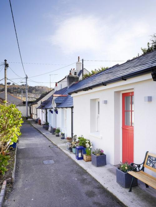 kleine Apartment Designs holz außenbereich straße hinterhof