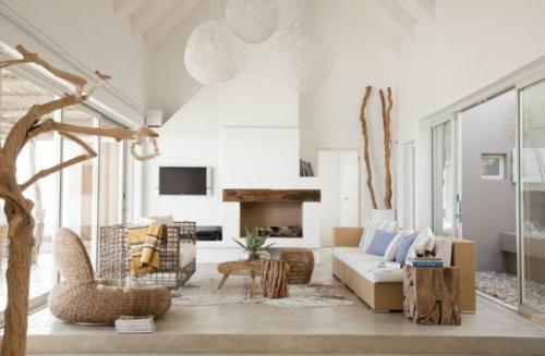 Fesselnd Free Kleines Wohnzimmer Gestalten Wohnideen Braun Holz Organisch  Inspiration With Wohnideen Wohnzimmer