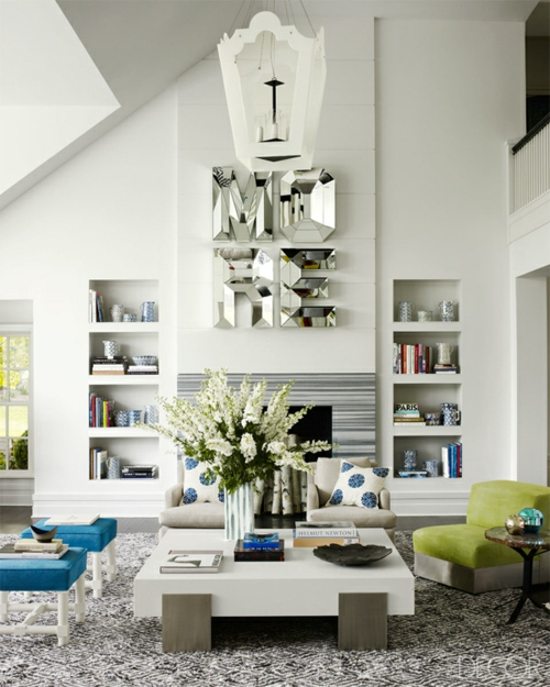 Coole Wohnideen dafür, wie man kleines Wohnzimmer gestalten kann