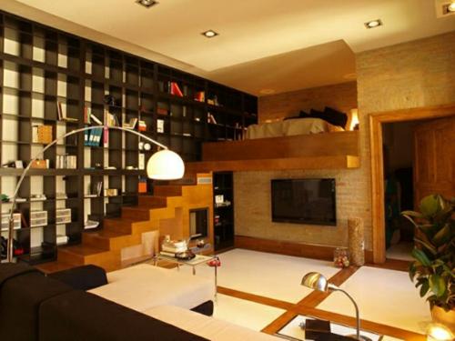 Wohnideen Apartment kleines apartment zeigt größe stilvolle und kreative designs