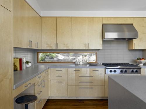 Tipps für Küchenfenster modern design lackiert oberflächen hell