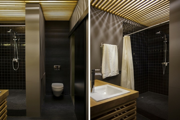 kreative wohnung mit fließendem design dezent und elegant im bad