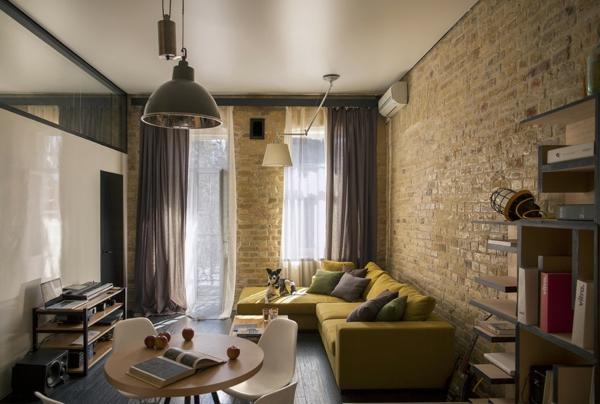 Kreative wohnung mit flie endem design eine frische idee for Wohnung dekorieren mit holz