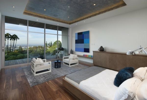 luxuriöse residenz mit gewagtem design einbauleuchten mit sternenhimmel effekt