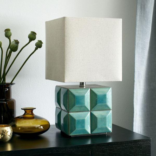 möbel kollektion herbst geometrische  formen lampenfuß