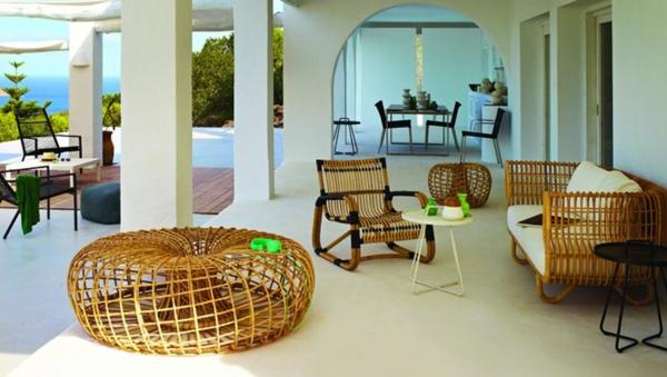 nachhaltige rattan m bel mit skandinavischem charme. Black Bedroom Furniture Sets. Home Design Ideas