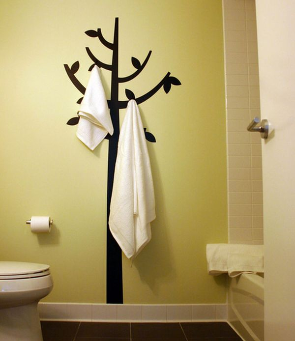 Bathroom Towel Tree Rack