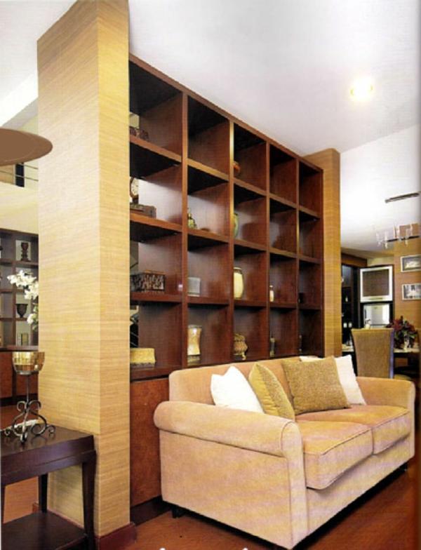 regale als trennwand 20 tolle ideen und ratschl ge f r ihr zuhause. Black Bedroom Furniture Sets. Home Design Ideas