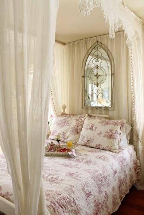 romantische schlafzimmer filigrane muster bettwäsche in lila